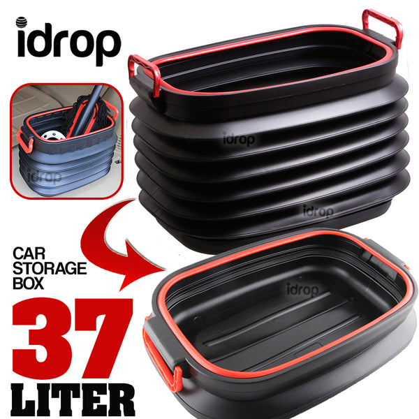 idrop Multifunctional Collapsible Foldable Car Storage Box