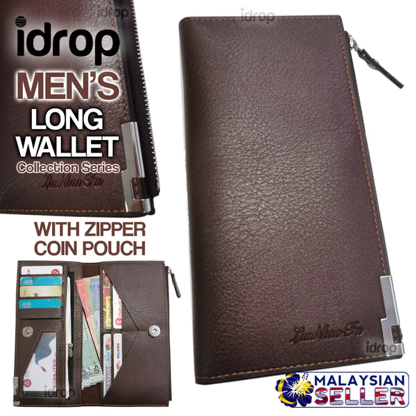 idrop Men's Long Wallet Collection Series [ LIUNIAOFU  ] [ 8922#-3 ]