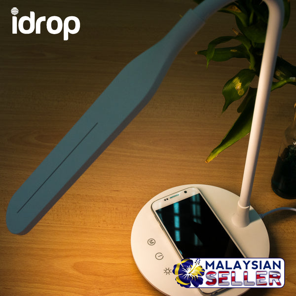 idrop LED Wireless Charging Lamp - ICA602 - Night Light Stand Wireless Charger