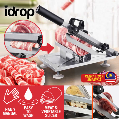 idrop Meat & Beef Stainless Steel Slicer Cutting Devices