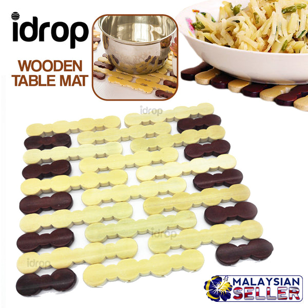idrop Wooden Table Placemat