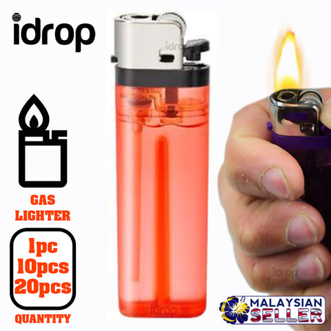 idrop Disposable Standard Gas Lighter [ DY-63 ] [ 1pc / 10pcs / 20pcs ]