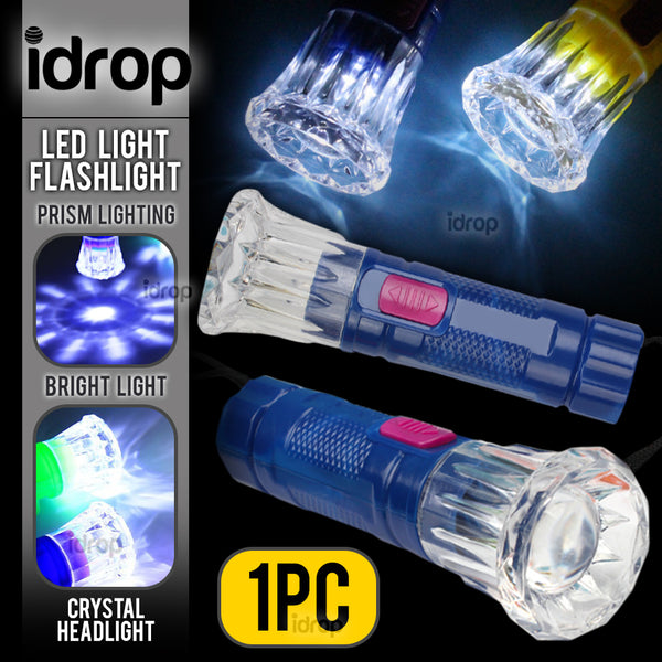 idrop Mini LED Prism Head Light Flashlight