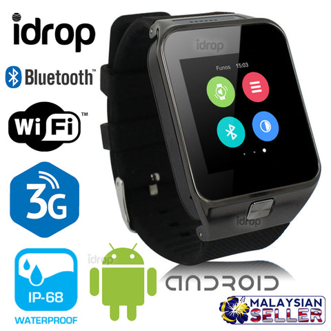 idrop QW09 1.54 3G Bluetooth WIFI Android Smart Watch