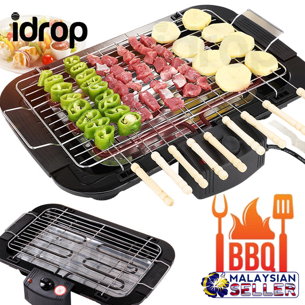 idrop HZA-31 Portable Compact Electric BBQ Stove Barbecue Cooking Grill