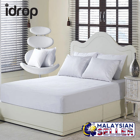 idrop Fitted Water Resistant Mattress Protector
