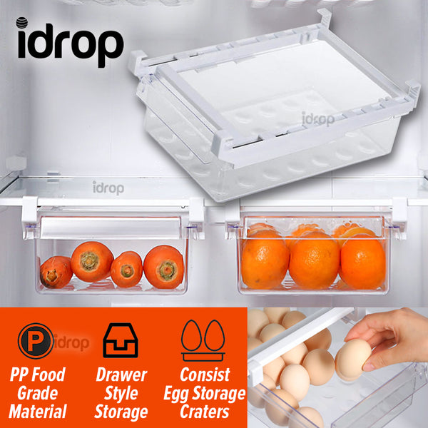 idrop Refrigerator Internal Hanging Drawer Storage Box