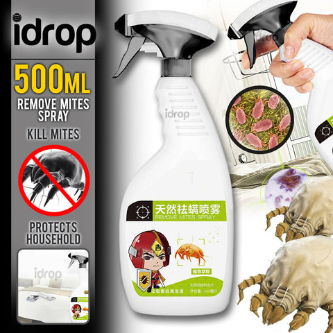 idrop 500ml Mite Remover Exterminating Insecticide Spray