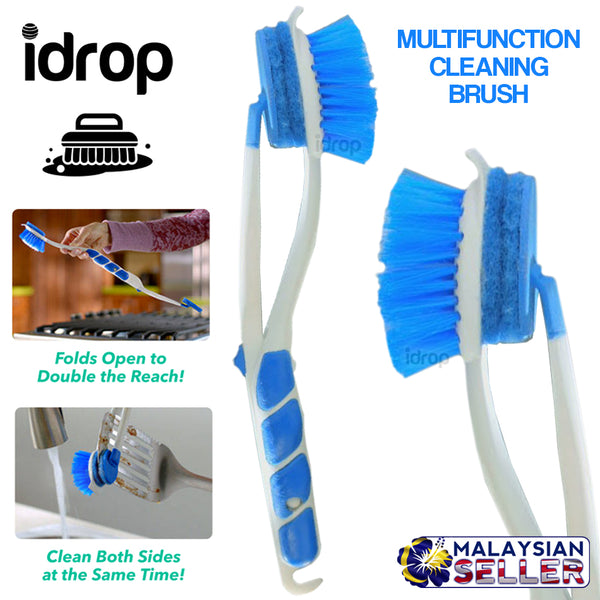idrop Scrubber Max Dual Multifunction Cleaning Brush