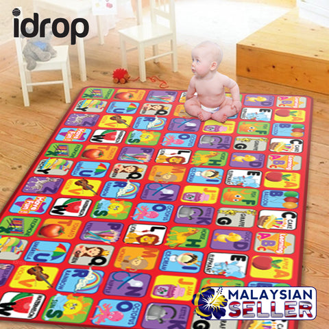 idrop ABC Learning Rolling Mat for Baby and Child with Colorful Picture illustration