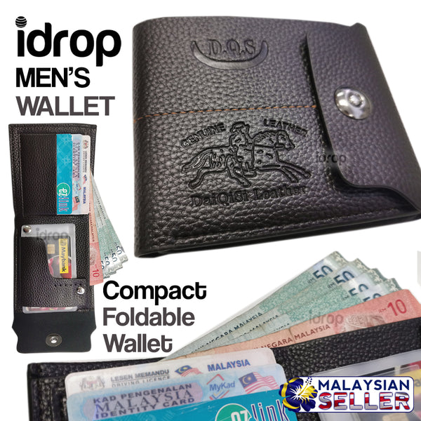 idrop DQS Men's Wallet [ PU 530 ]