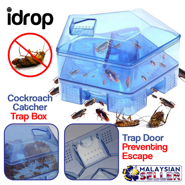 idrop Cockroach Catcher Trap Box Pest Controller Container