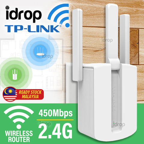 idrop TP-LINK 450M Wifi Wireless Internet Extender Router [ TL-WA933RE ]