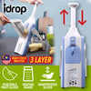 idrop Kitchen Hand Manual Vegetable Cutting Slicing Peeler Grater Slicer