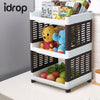idrop 3 Layer Shelf / Rack household, kitchen, or bathroom item organizer and storage