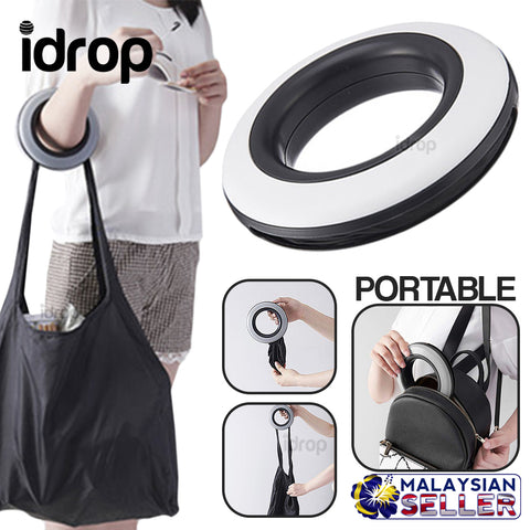 idrop Spiral Ring Portable Compact Tote Storage Bag
