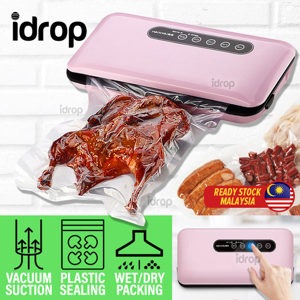 idrop Automatic Vacuum Seal Food Pump Plastic Bag Packing Packaging Machine