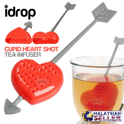 idrop Cupid Heart Shot Tea Infuser Decor