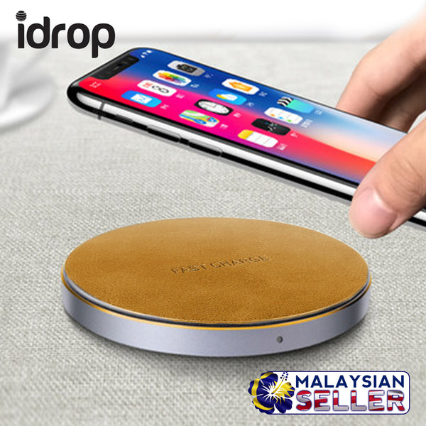 idrop HR010 Wireless Charger Cordless Charging Portable Compact Charger