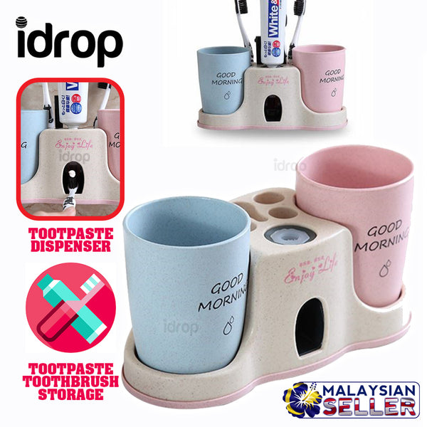 idrop TOOTHPASTE DISPENSER - Wall Mount Storage