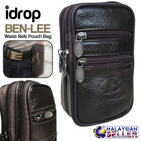 idrop BEN-LEE Waist Belt Pouch Bag