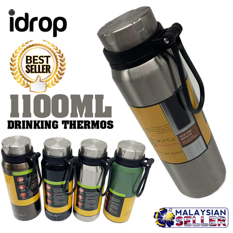 idrop 1100ML - Outdoor Portable Drinking Thermos