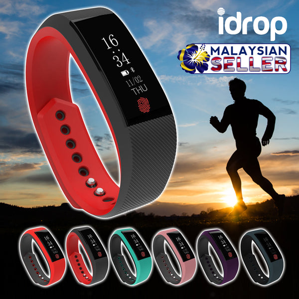 idrop W808S Smart Sports Bracelet Bluetooth Waterproof Sleep Heart Rate Monitor Smart Watch Wristband Bracelet Tracker Sport For Android iOS phone