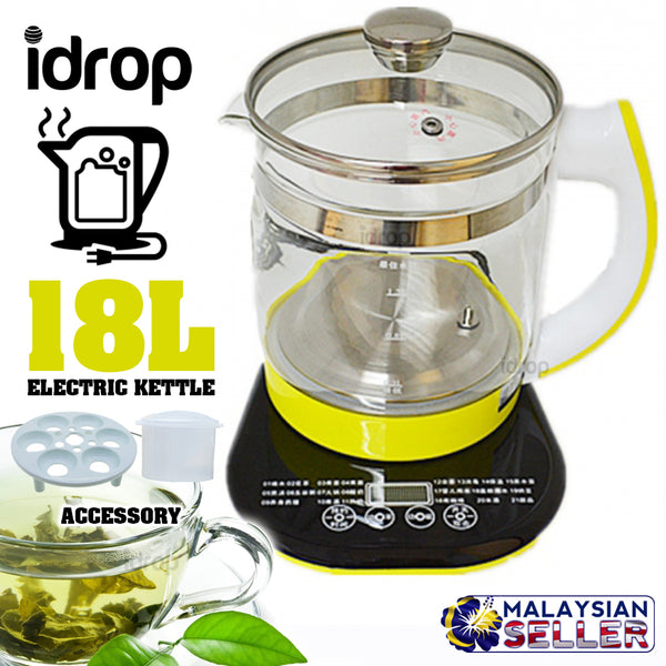 idrop 1.8L Multifunction Electric Kettle Cooker
