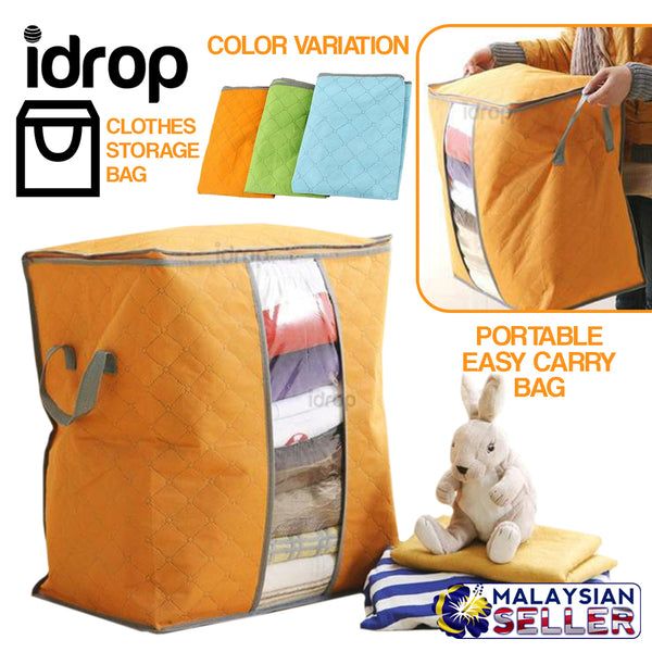 idrop Foldable Portable Clothes Storage Bag