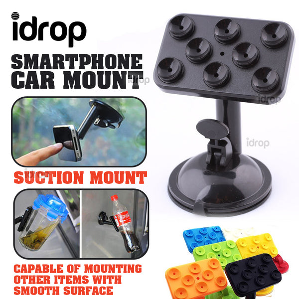 idrop Smartphone Suction Car Mount Holder