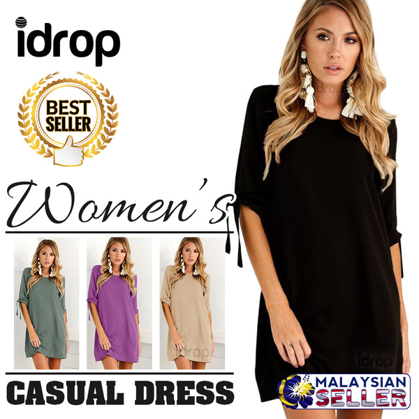 idrop NEWDRESS Women's Chiffon Loose Casual Dress