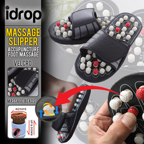 idrop Acupressure Reflexology Foot Healthy Massage Slippers