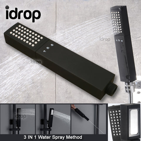 idrop 3 IN 1 Double Sided handheld Bathroom Shower Head