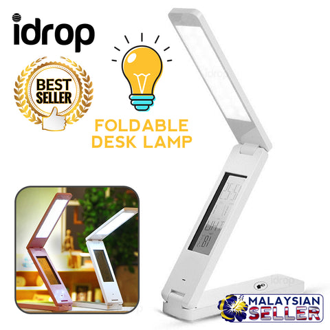 idrop DESK LAMP - Foldable and Rechargeable Table Light