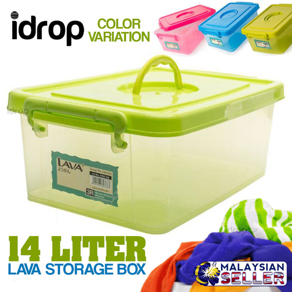 idrop 14L Lava Storage Box