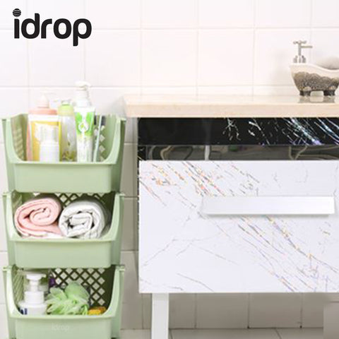 idrop 3-Tier Storage Organizing Rack / Shelf - stackable and separatable storing capability