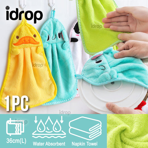 idrop ANIMAL HANGING NAPKIN - Kitchen Hand Dry Towel