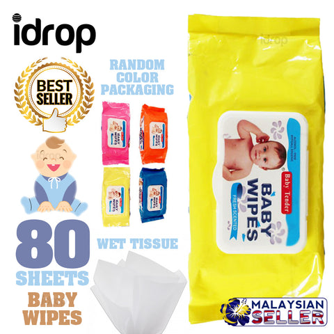 idrop 80 Sheets - BABY TENDER Baby Wipes