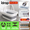 idrop Foldable Collapsible Household Laundry and Washing Mop Clean ing Bucket
