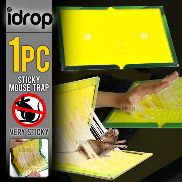 idrop Sticky Rat Mouse Foldable Adhesive Glue Trap Board [ 24cm x 17cm ]