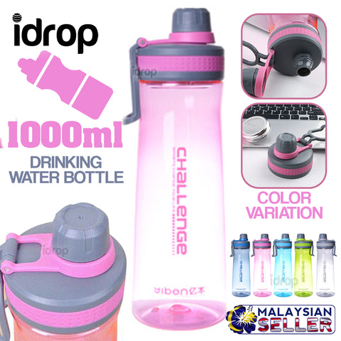 idrop 1000ml YIBEN - CHALLENGE Drinking Water Bottle [ YB-0260 ]