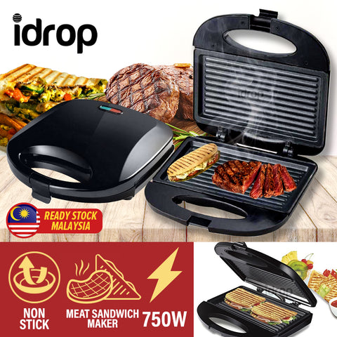 idrop Electric Grill Sandwhich  Toaster Maker [ 750W ]