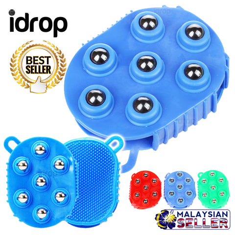 idrop SCRUB MASSAGE - Metal Beads and Scrubber