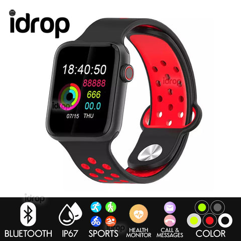 idrop SMART BRACELET Sports Bluetooth Smartwatch Series Intelligent Health Monitoring Waterproof Watch for Men Women
