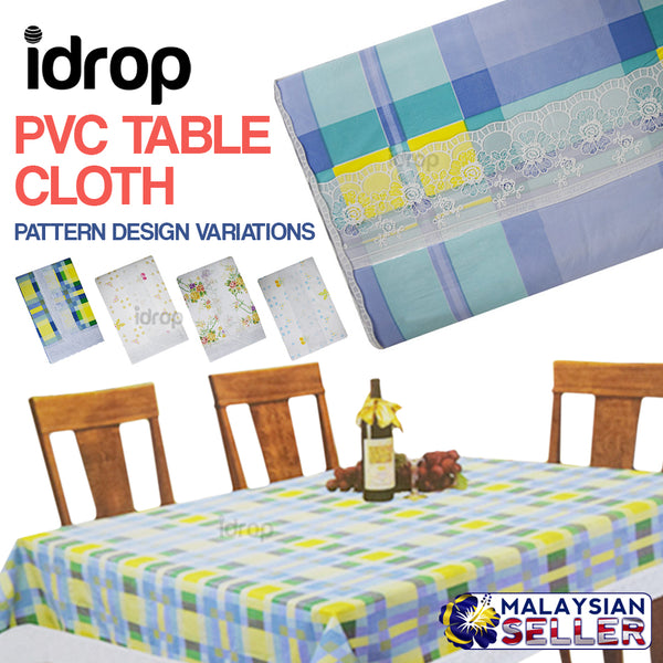 idrop PVC Table Cloth [ 137cm x 183cm ]