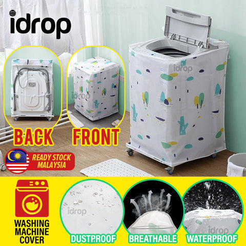 idrop Household Washing Machine Waterproof & Dust EVA Protective Cover [ 55*58*87cm ]