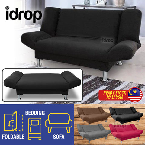 idrop 2 IN 1 Foldable Sofa Bed Seater [ 2 SEATER / 3 SEATER ]