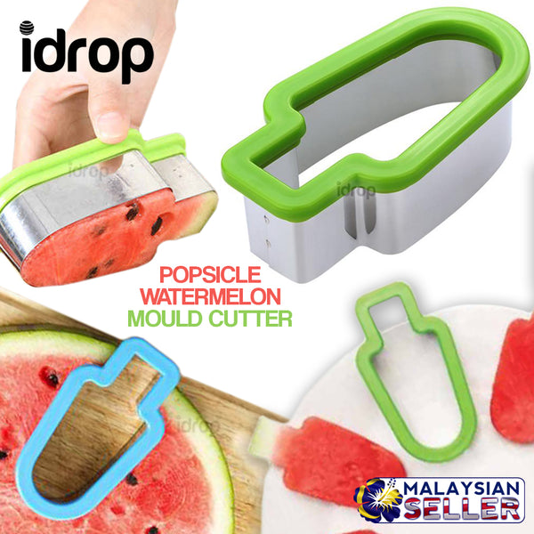 idrop POPSICLE WATERMELON Mould Shape Cutter Slicer