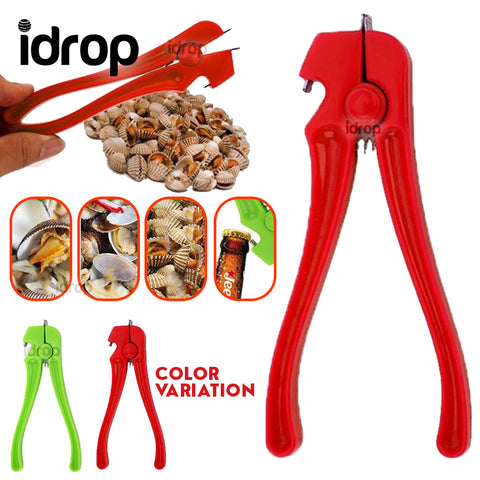 idrop Kitchen Clam Shell & Bottle Cap handheld Manual Opener