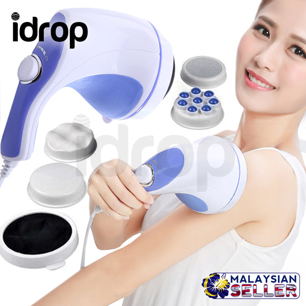 idrop Relax and Spin Tone Slimming, Toning and Exercising Whole Body Massager